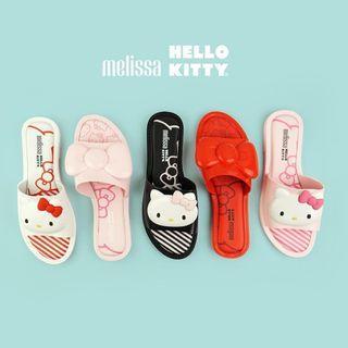 Melissa x Hello Kitty 凱蒂貓 三麗鷗 聯名 拖鞋 平底拖鞋 運動拖鞋 市外拖鞋 涼鞋 橡膠鞋