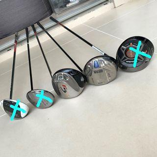 Used Golf Clubs - Priced to clear