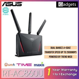 ASUS RT-AC86U WiFi Dual-band Gigabit Wireless Router AC2900
