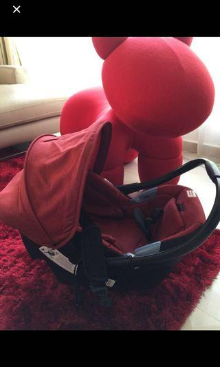 Sweet cherry carrier & Car Seat