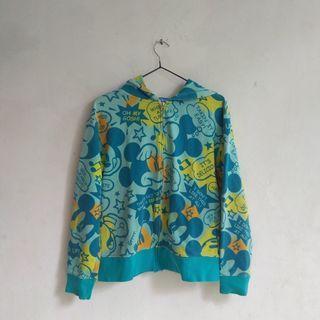 hoodie jaket disney mickey fullprint