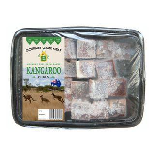 Pet Cubes Frozen Fresh Kangaroo Meat Cubes