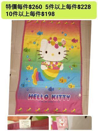 🚚 Hello Kitty 凱蒂貓 正版 刷毛毯子