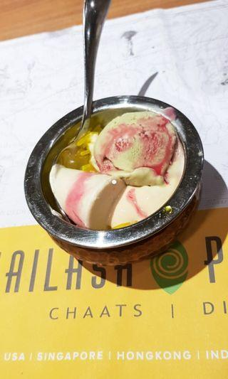 Falooda Ice cream Pack(the picture shows it in a bowl)