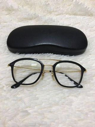 Rayban Hipster Gold Glasseses