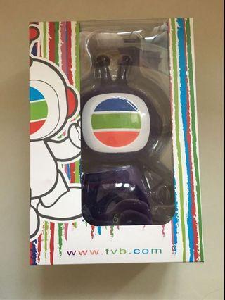 TVB tvbuddy figure 紫色水晶鏈版公仔
