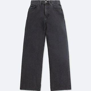 Uniqlo High Rise Wide Jeans