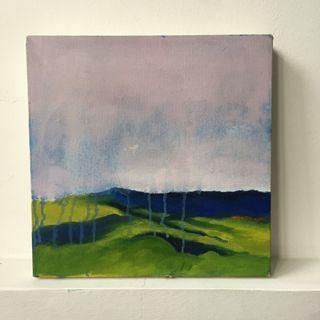 Oil Landscape Paintings by Amateur Student