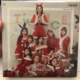 WTS TWICE Twicecoaster Lane 1 Christmas Edition
