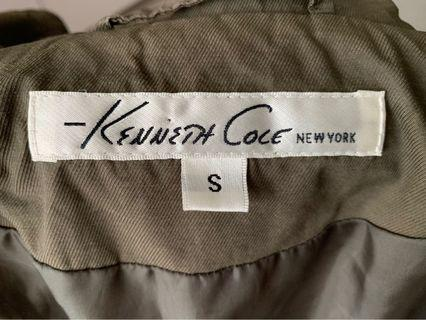 Kenneth Cole Army Green Reaction Coat