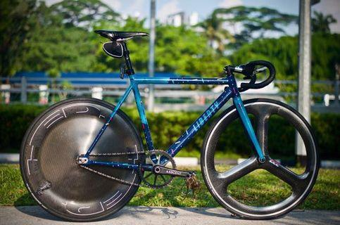 HED WHEELSET and LIBERTY FRAMESET