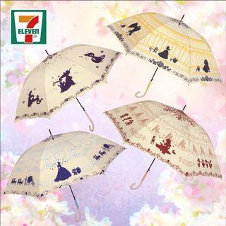 🚚 香港代購 7-11 迪士尼 雨傘