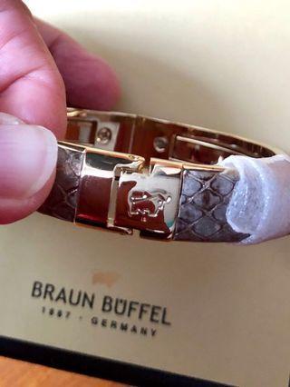 BRAUN BUFFEL BANGLE