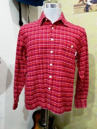 Ocean Pacific red flannel