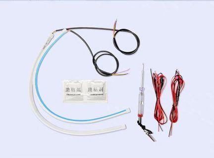 Universal running DRL led light strap