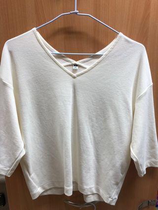 🚚 🗣特價300🔥全新UNIQLO 白色上衣
