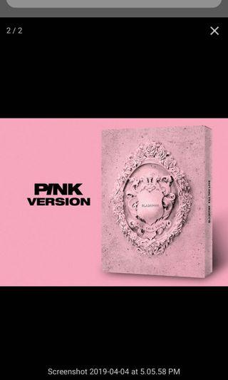Blackpink KILL THIS LOVE ABLUM