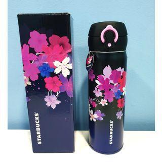Starbucks Purple Pink Sakura 500ml Thermos Tumbler