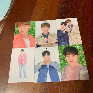 [WTS/WTT] SEVENTEEN HARU TRADING CARDS
