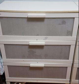 IKEA BRIMNES Chest of 3 drawers, white