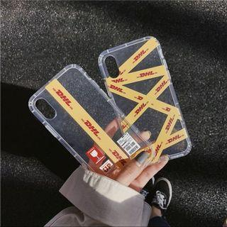 🚚 iPhone Clear DHL Case