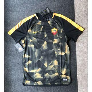 Authentic Roma Nike Football Jersey Kit Medium