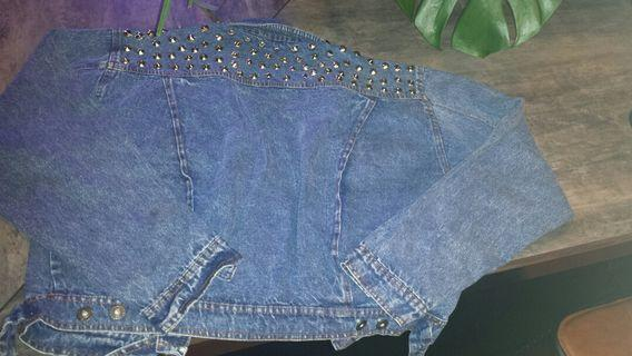 🚚 Vintage Studded Denim