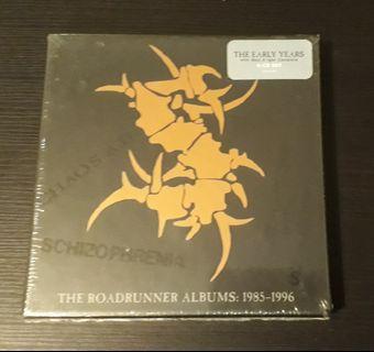 CD Sepultura - The Roadrunner Albums : 1985-1996 ( Boxset 6 CD )