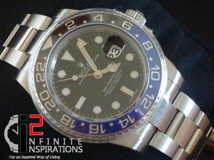 Rolex GMT Master ll Ref: 116710BLNR – Brand New Complete Set