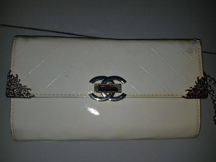 #BAPAU | SALE PRELOVED RAMADHAN | FREE ONGKIR JABODETABEK Clutch Chanel White Glossy