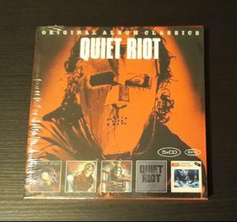 CD Quiet Riot - Original Album Classics (  Boxset 5 CD )