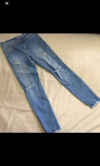 Cotton on Ripped Skinny Jeans 7/8