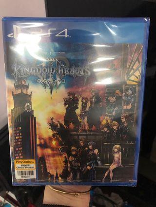 PS4 PS 4 KINGDOM HEARTS III 全新
