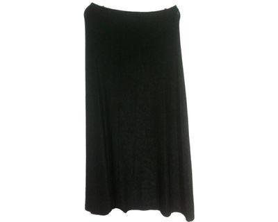 #mauvivo No Brand - Black Long Skirt