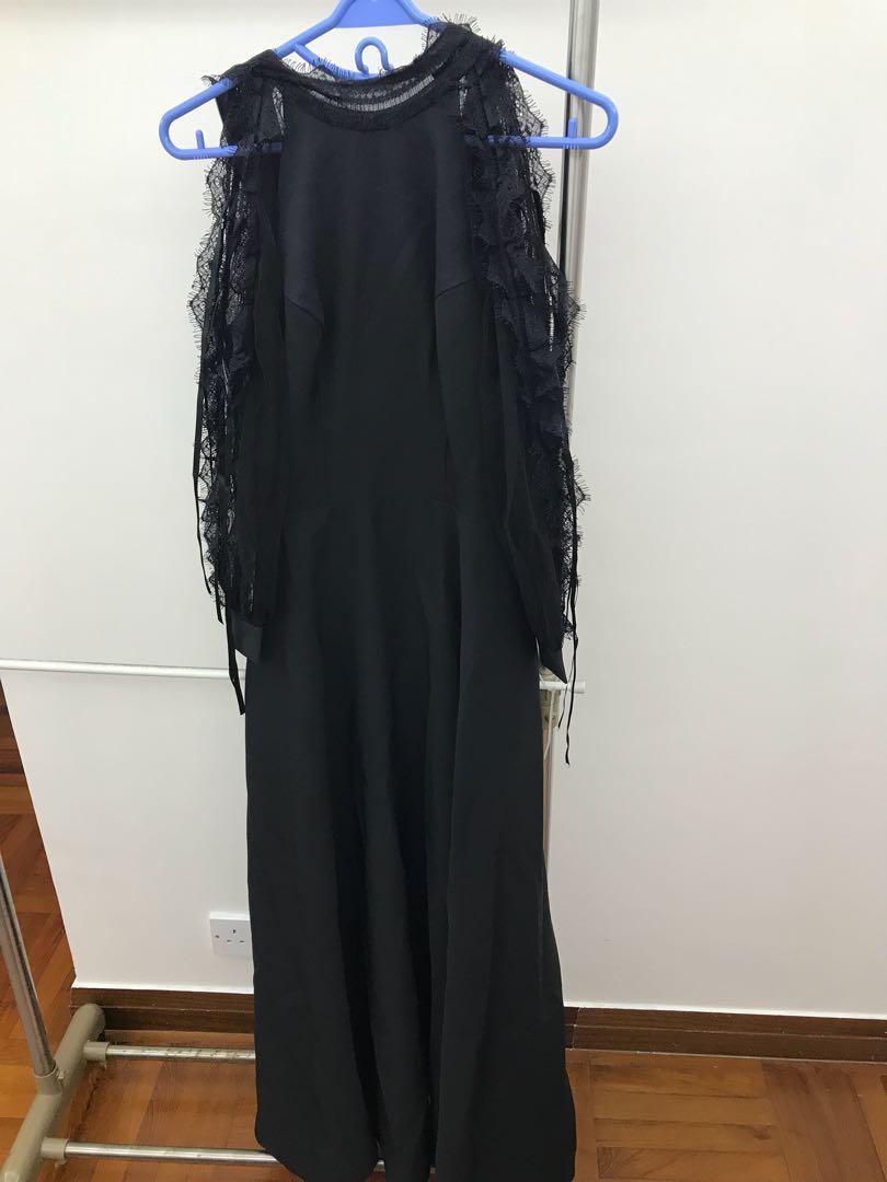全新晚裝裙1條