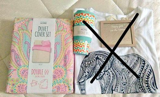 Primark duvet cover set