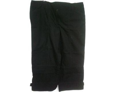 #mauvivo No Brand - Black 7/8 Pants (Big Size)