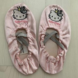 Hello kitty ballet shoes