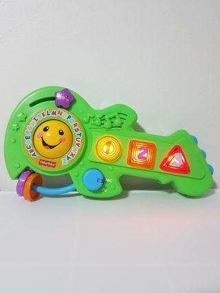 FISHER PRICE guitar toy laugh and learn jam and learn