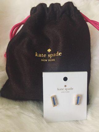 Kate Spade Earrings & Pouch