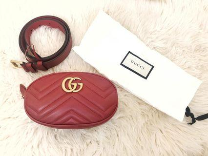 Gucci belt bag marmont sz 85