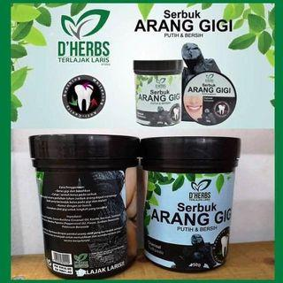 D'Herbs Charcoal toothpaste