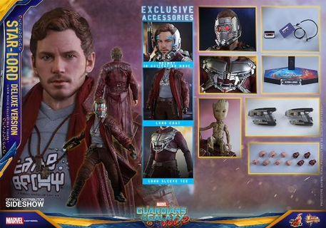 LF Hot Toys GOTG2 Starlord Deluxe Edition