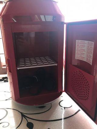 可口可樂迷你雪櫃