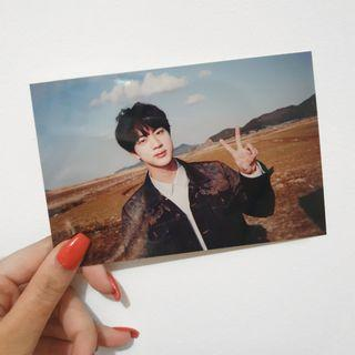 bts 2018 exhibition book; jin live photo