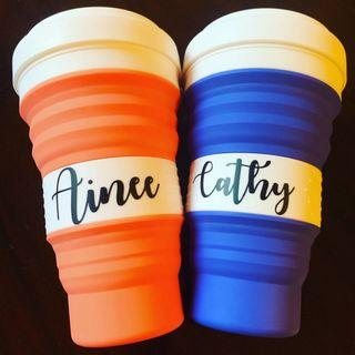 Personalization 550ml Collapsible Cup