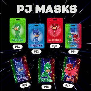 PJ Masks Bag Tag/Lanyard