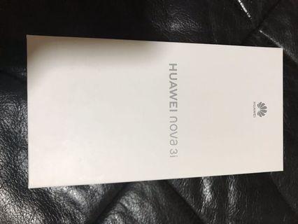🚚 Huawei Nova 3i - Blue