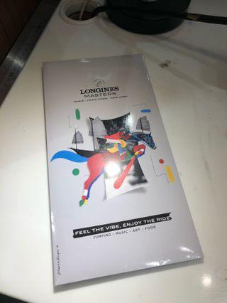 Longines Masters 浪琴大師賽紀念袋巾