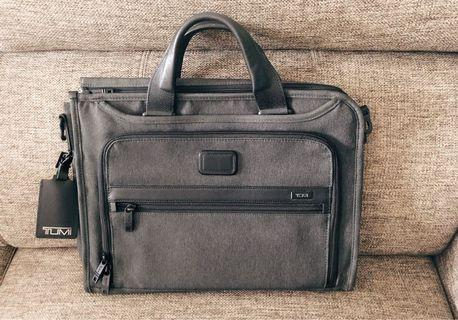 100% Authentic TUMI Briefcase with Paper Bag
